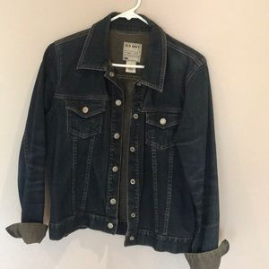 Old navy snap front Jean jacket